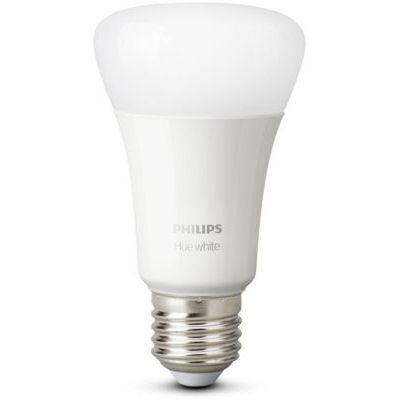 image Philips Hue Ampoules LED Connectées Blanc Chaud E27 Compatible Bluetooth, Fonctionne avec Alexa Pack de 2
