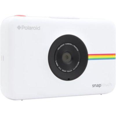 image Polaroid Snap Touch - Appareil Photo Numérique à Impression Instantanée avec Écran LCD et Technologie d'Impression sans Encre Zink, Blanc