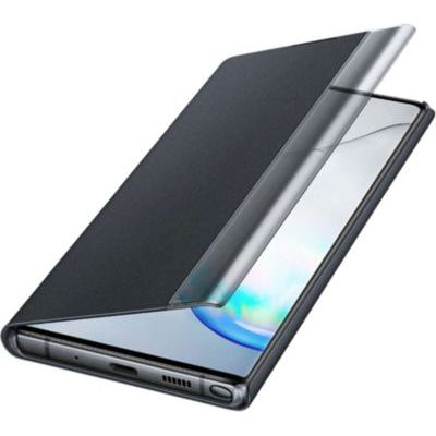 image Samsung Clear View Cover Noir Galaxy Note 10+
