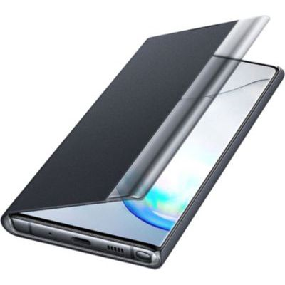image produit Samsung Coque Clear View pour Galaxy Note 10/Galaxy Note 10 5G - Noir