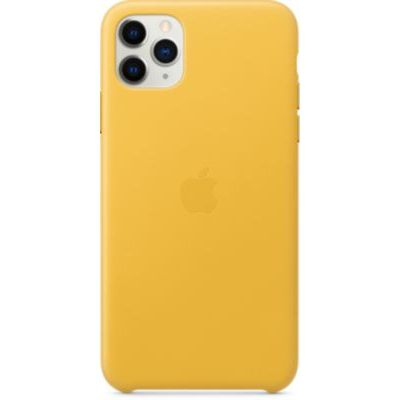 image Apple Étui Folio en Cuir (pour iPhone 11 Pro Max) - Citron Meyer