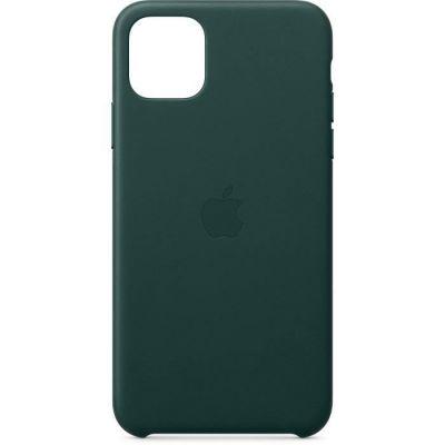 image Apple Étui Folio en Cuir (pour iPhone 11 Pro Max) - Vert Forêt