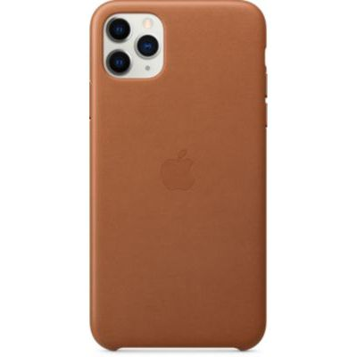 image Apple Étui Folio en Cuir (pour iPhone 11 Pro Max) - Havane