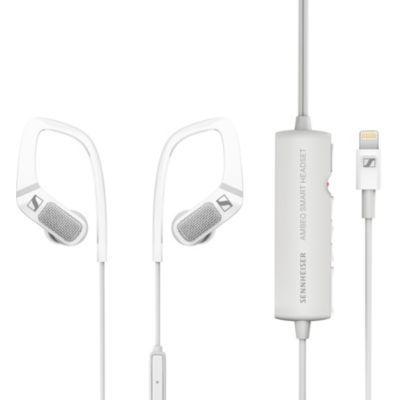 image Sennheiser Ambeo Smart Headset (iOS) pour un son de vidéo en 3D,Blanc