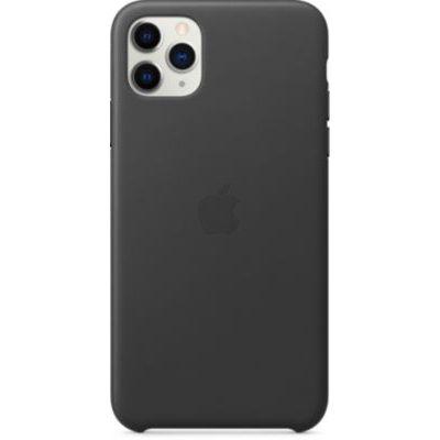 image Apple Étui Folio en Cuir (pour iPhone 11 Pro Max) - Noir