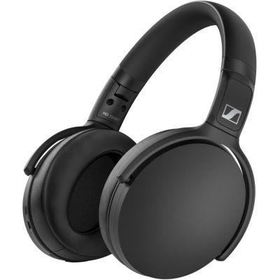 image Casque d'écoute pliable sans fil Sennheiser HD 350BT, Noir