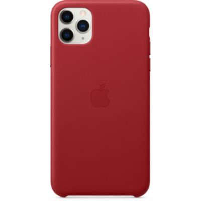 image Apple Étui Folio en Cuir (pour iPhone 11 Pro Max) - (PRODUCT)RED