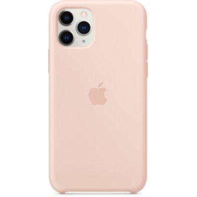 image Apple Coque en Silicone (pour iPhone 11 Pro) - Rose des Sables