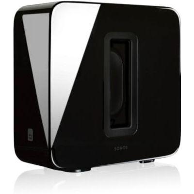 image produit Sonos SUB Caisson de basse sans fil et subwoofer actif pour home cinema - Fonctionne avec le système audio multiroom Sonos - Noir