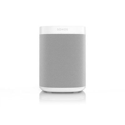 image Sonos One - Enceinte Sans Fil - Multiroom Wifi - Air Play 2 - Assistant Google et Amazon Alexa Intégrés - Son Clair - Interface Tactile - Blanc