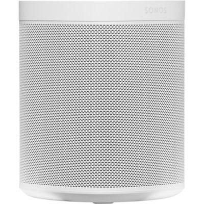 image Sonos One SL - Enceinte Sans Fil - Multiroom Wifi - Air Play 2 - Son Clair - Interface Tactile - Blanc