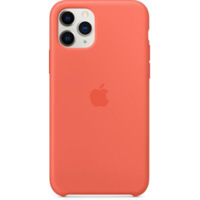 image Apple Coque en Silicone (pour iPhone 11 Pro) - Clémentine (Orange)