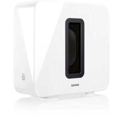 image Sonos SUB Caisson de basse sans fil et subwoofer actif pour home cinema - Fonctionne avec le système audio multiroom Sonos - Blanc