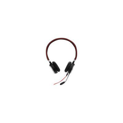 image Jabra Evolve 40 MS Stereo Casque audio - Casque audio certifié Microsoft pour VoIP Softphone avec annulation passive du bruit - Câble USB avec contrôleur - Noir
