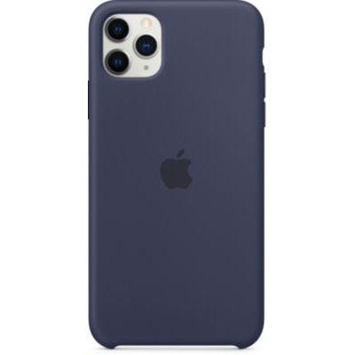 image Apple Coque en Silicone (pour iPhone 11 Pro Max) - Bleu Nuit