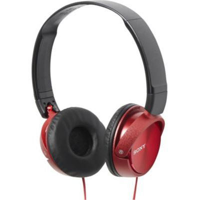 image Sony MDR-ZX310R Casque Pliable - Rouge