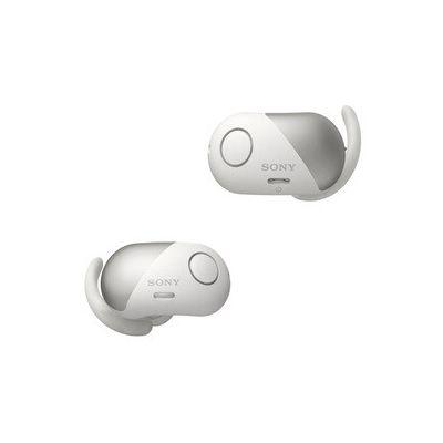image Sony WF-SP700N Ecouteurs Sport Veritablement Sans Fil à Reduction de bruit - Blanc, avec Amazon Alexa Intégrée