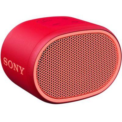 image Sony SRS-XB01 Enceinte portable ultra compacte résistante à l'eau - Rouge