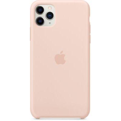 image Apple Coque en Silicone (pour iPhone 11 Pro Max) - Rose des Sables
