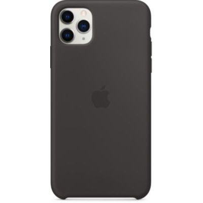 image Apple Coque en Silicone (pour iPhone 11 Pro Max) - Noir