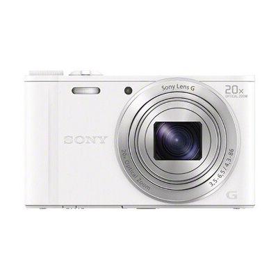 image Sony DSC-WX350 Appareils Photo Numérique, Capteur CMOS Exmor R, 18.2 Mpix, Zoom Optique 20x - Blanc
