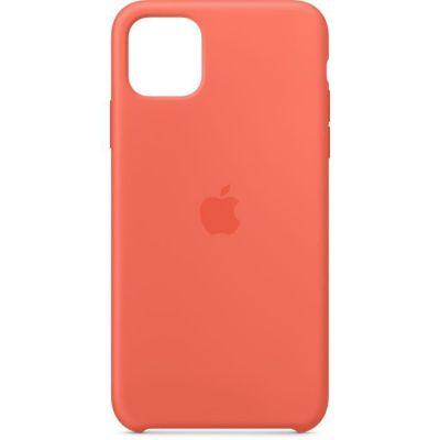 image Apple Coque en Silicone (pour iPhone 11 Pro Max) - Clémentine (Orange)