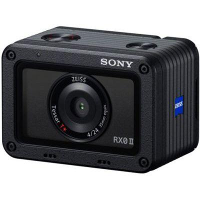 image Sony RX0 II Kit Vlog | Appareil photo Expert Premium ultra-compact et résistant avec poignée VCT-SGR1 (Capteur de type 1.0, Optique Zeiss 24mm F4.0 , étanche, avec vidéo 4K et écran inclinable)