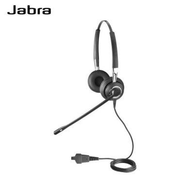 image Jabra Biz 2400 II Casque Stereo supra-auriculaire Quick Disconnect - Casque Léger Filaire Ultra Antibruit avec Voix HD et Coussinet souple pour Téléphones de Bureau