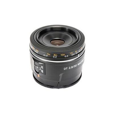 image Sony - SAL30M28 - Objectif Macro Monture A APS-C 30 mm F2.8 , Noir