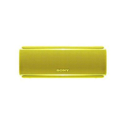 image Sony SRS-XB21 Enceinte portable sans fil Bluetooth Waterproof avec effet lumineux - Jaune