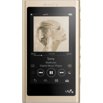 image Sony NW-A55L Lecteur Audio MP3 Walkman High-Resolution 16Go Doré