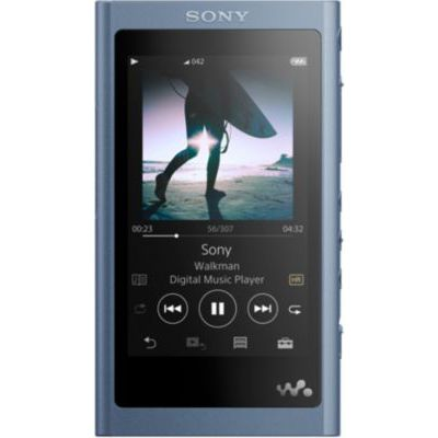 image Sony NW-A55L Lecteur Audio MP3 Walkman High-Resolution 16Go Bleu