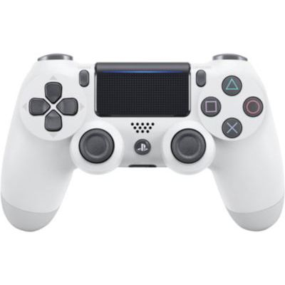 image produit Sony Manette PlayStation 4 officielle, DUALSHOCK 4, Sans fil, Batterie rechargeable, Bluetooth, Glacier White (Blanche)