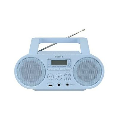 image Sony ZSP-S50L Lecteur CD/MP3, USB, Radio - Bleu