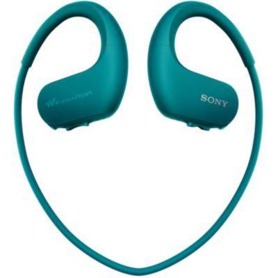 image Sony Walkman NW-WS413 - Lecteur MP3 Intégré à des Ecouteurs - Etanche - 4 GB - Bleu