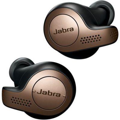 image Jabra Elite 65t Écouteurs - Écouteurs Bluetooth sans Fil à Isolation Passive du Bruit avec Technologie à 4 Microphones - Noir Cuivre