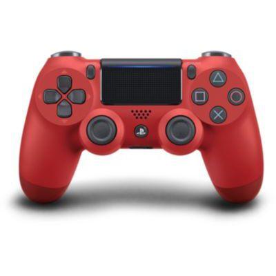 image Sony Manette PlayStation 4 officielle, DUALSHOCK 4, Sans fil, Batterie rechargeable, Bluetooth, Rouge