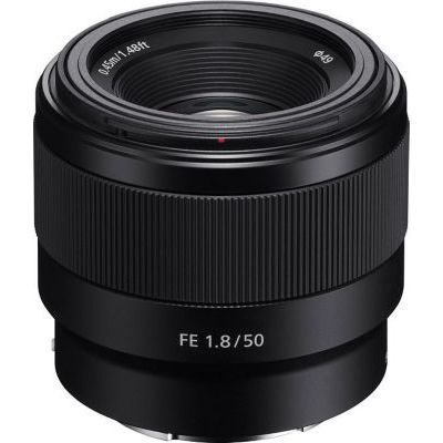 image Sony SEL 50-F18F Objectif 50 mm Ouverture F1.8 pour Monture E Sony