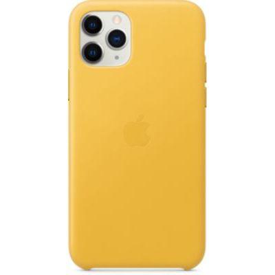 image Apple Coque en cuir (pour iPhone 11 Pro) - Citron Meyer