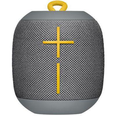 image Ultimates Ears Wonderboom enceinte portable Bluetooth, Son étonnamment puissant, Etanche, Connectez deux enceintes pour un son plus puissant, Batterie 10h - Grise