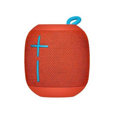 image Ultimates Ears Wonderboom enceinte portable Bluetooth, Son étonnamment puissant, Etanche, Connectez deux enceintes pour un son plus puissant, Batterie 10h - Rouge