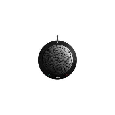 image Jabra Speak 410 Haut Parleur – Enceinte Portable Certifiée Microsoft avec USB – Connectivité Plug-And-Play avec les Ordinateurs