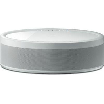 image YAMAHA MusicCast 50 – Enceinte bluetooth 70W – Système audio Multiroom, Wifi, Airplay – Enceinte maison – Compatible avec smartphones et ordinateurs – Blanche
