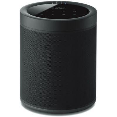 image YAMAHA MusicCast 20 – Enceinte bluetooth 40W – Système audio Multiroom, Wifi, Airplay – Baffle maison – Compatible avec smartphones et ordinateurs – Noire