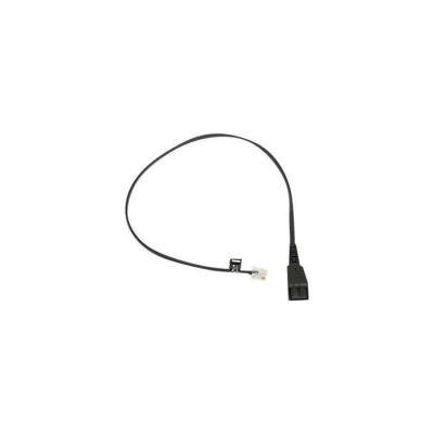 image Jabra 8800-00-25 Câble Ethernet vers RJ10 Prise Siemens 0,5 m Noir