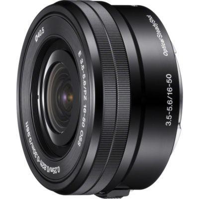 image Sony Objectif SEL-P1650 Monture E APS-C 16-50 mm F3.5-5.6