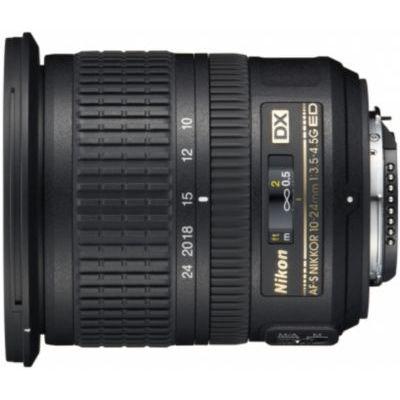 image Objectif pour Reflex Nikon AF-S DX 10-24mm f/3.5-4.5G IF ED Nikkor