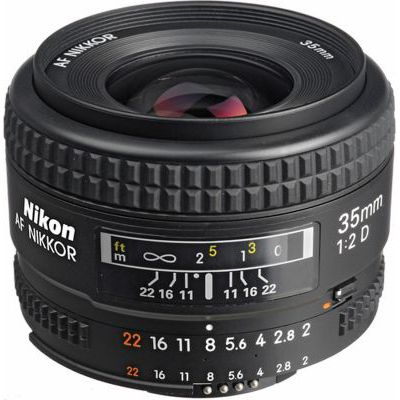 image Objectif pour Reflex Nikon AF 35mm f/2D Nikkor