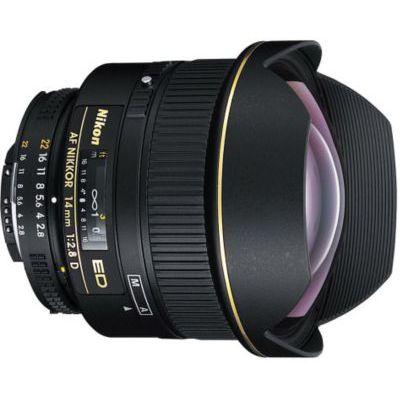 image Objectif pour Reflex Nikon AF 14mm f/2.8D ED Nikkor
