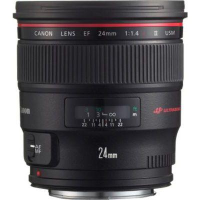 image Canon EF 24 mm f/1,4 L II USM Objectif grand angle pour appareil reflex Motorisation silencieuse USM